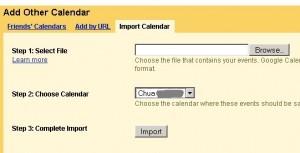 thunderbird sync google calendar, google import calendar window, google calendar