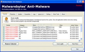 anti malware remove antivirus 2008