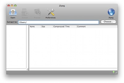 Is it possible to open the password protected zip files in Mac?
