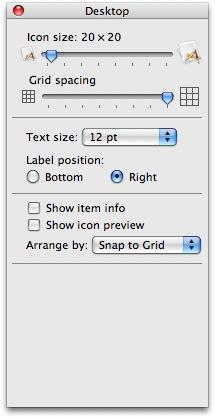 How to change desktop icon size in Mac? - Techie Corner