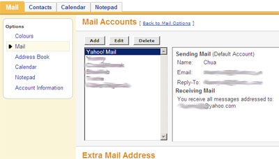 how to send mailcimp from different email