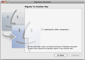 migration assistant for mac 10.5.8