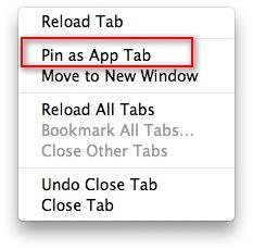 firefox create app tab, firefox create favaurite tab