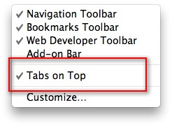 firefox tab bar bottom, firefox move tab bar bottom