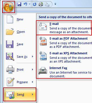 excel change default mail client