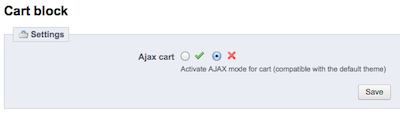 prestashop disable ajax cart